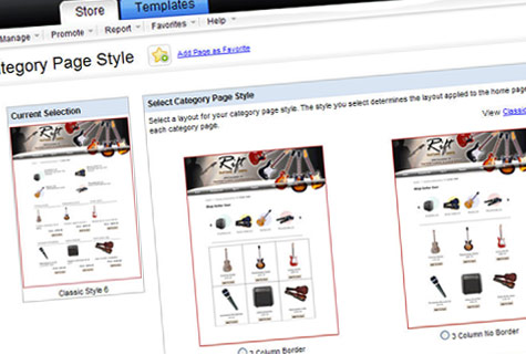 Pick your layout for ecommerce website development