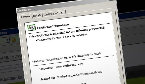 how does ssl certificate work